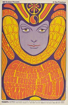 Grateful Dead Fillmore Poster