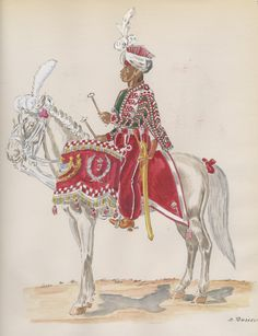 the art of Henry Boisselier - Page 10 - Armchair General and HistoryNet >> The Best Forums in History Kingdom Of Naples, Kingdom Of Italy, War Drums, Empire, Naples Italy, Napoleonic Wars, Military History, Camel, Armchair