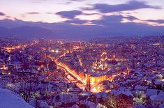 Sarajevo im Bosnien und Herzegowina Reiseführer http://www.abenteurer.net/1180-bosnien-und-herzegowina-reisefuehrer/