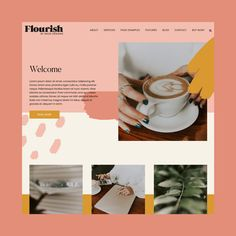 Flourish WordPress Theme – Snug Designs Flourish WordPress Theme – Snug Designs,Website and Branding Flourish WordPress Theme by Snug Designs Website Layout, Web Layout, Layout Design, Design Responsive, Wordpress Theme Design, Responsive Web, Minimal Web Design, Template Web, Website Template