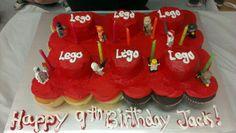 Lego birthday cake for Jack