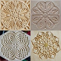 I've got an idea for the second version of a practice board, but don't know if that's worth doing or not; here it is: I want to include 4 different hand drawn patterns on a basswood board (2 pattern on each side of it). What do you think about it? Would it be interesting for you to carve such board? Thanks in advance for your answers.  . . . . . . . . #chipcarving #woodwork #woodworking #woodcarving #practiceboard #differencemakesus #резьбаподереву #геометрическаярезьба