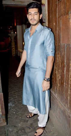 Mohit Marwah at Anil Kapoor's #Diwali bash. #Bollywood #Fashion #Style #Handsome