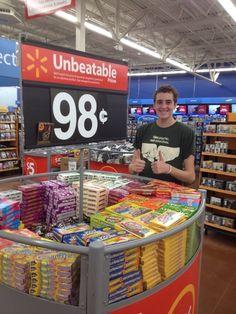 OCD Hero At Wal-Mart Saves Halloween: AFTER