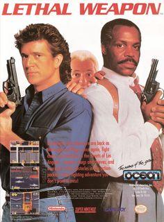 Murtaugh and Riggs wreak havoc on your #SNES (1993). #retrogaming #bitstory