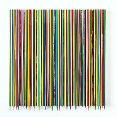 """Francisco Valverde, Memento, pigments and epoxic resin on panel, 36"""" x 36"""""""