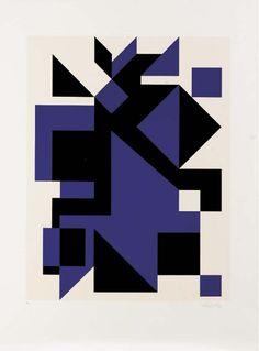 VICTOR VASARELY - UTICA, screenprint 1982