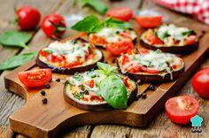 Receta de Berenjenas a la pizza light - Fácil, rápido y saludable
