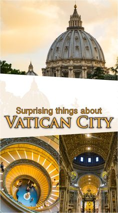 Vatican City is the smallest country in the World yet contains so many incredible experiences. Take a look inside Saint Peter's Basilica and Vatican Museums to discover its fascinating history and artefacts from across the world.