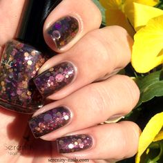 Femme Fatale Cosmetics- The Fallen Kingdom. Color 4 Nails exclusive