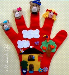 Photo - Photography, Landscape photography, Photography tips Glove Puppets, Felt Puppets, Felt Finger Puppets, Hand Puppets, Puppet Crafts, Felt Crafts, Diy Crafts For Kids, Arts And Crafts, Baby Quiet Book