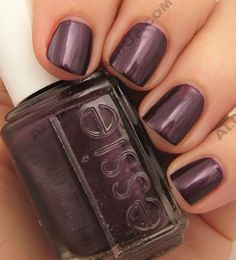 Essie Winter 2008 Collection Essie color…Damsel in a Dress. Great purple color for the winter. Love Nails, How To Do Nails, Fun Nails, Pretty Nails, Style Nails, Essie Nail Polish, Nail Polish Colors, Nail Polishes, Essie Colors