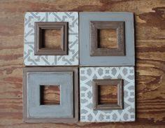 Set of 4 Dovetail Grouping – Delta Girl Frames