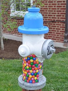 painted fire hydrants - Google Search