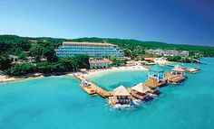 Ocho Rios, Jamaica.  This Sandal's Resort was pretty nice!  I liked the all-inclusive.  Their fresh fruit was amazing!  and the Gnarly Marley's were pretty good too ;)