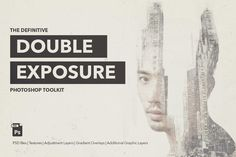 Definitive Double Exposure Toolkit by Twinbrush Image Forge on @creativemarket