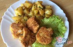 Nejchutnější způsob jak připravit květák bez smažení What To Cook, Potato Salad, Cauliflower, Vegetarian Recipes, Food And Drink, Potatoes, Dishes, Chicken, Baking