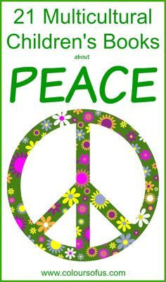Multicultural Children's Books about peace, Ages 3 to 10