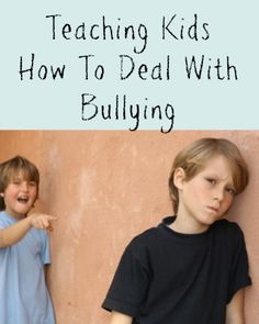 Teaching kids how to deal with bullying involves much more than telling them to go to an adult. Children who never learn to deal with bullies on their own can fail to develop a healthy sense of independence or self-worth. Bullying can actually grow in intensity if the parent or guardian has no idea how to deal with it.