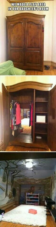 Great idea for a play room if you have the space at home