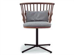 Cadeira de faia Coleção Nub by Andreu World | design Patricia Urquiola