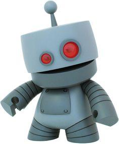 Roboy #Munny par RoboticIndustries ! #ArtToy #VinylToy #DesignerToy #CustomToy