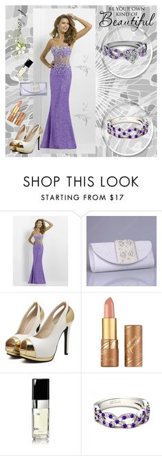"""""""Jeulia jewerly"""" by zijadaahmetovic ❤ liked on Polyvore featuring tarte, Chanel, women's clothing, women's fashion, women, female, woman, misses, juniors and jewelry"""