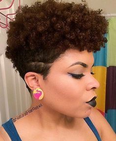 Beautiful taper cut and curls