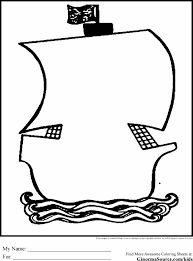 Resultado de imagen de pirate ship coloring