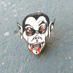 #Repost @blackbeetlepins  Vamp pin. Hand drawn. you can grab this and others on my etsy and bigcartel shops. Link in bio! http://ift.tt/2iTAs68 @blackbeetlepins    (Posted by https://bbllowwnn.com/) Tap the photo for purchase info.  Follow @bbllowwnn on Instagram for great pins patches and more!