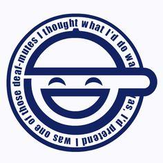 Laughing Man Logo GIF by Sushiman0001