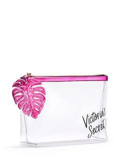 Palm-zip Beauty Bag