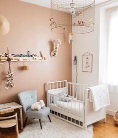 Baby Nursery Decor, Baby Bedroom, Kids Bedroom, Bedroom Decor, Baby Barn, Baby Room Design, Girl Room, Room Inspiration, Decoration