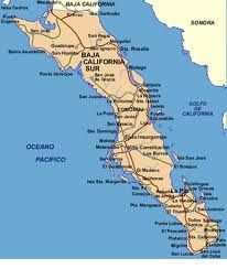 Toda la península de la Baja California Sur; Lugares impresionantes como Los Cabos, Mulegé, Loreto, La Paz, etc.