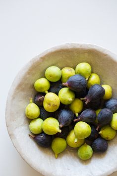 Beautiful figs on an amazing recipe to share.