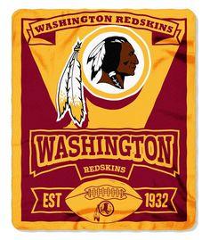 Washington Redskins 50x60 Fleece Blanket - Marque Design