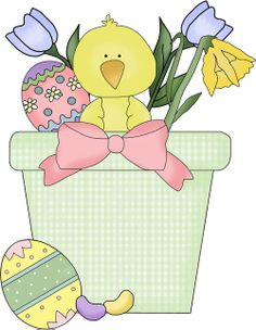 Adorable Easter Clip Art for scrapbooking or crafts...or even for blogs.