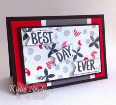Kylie Bertucci - Saleabration 2015 Best Day Ever stamp set.