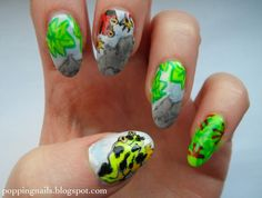 Popping Nails: Poison Dart Frogs