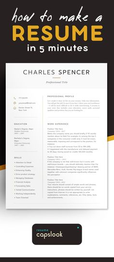 Resume Templates – Resume Tips for the Best Results How To Make Resume, Create A Resume, Great Resumes, Good Resume Examples, Job Resume, Resume Tips, Resume Ideas, Cv Tips, Modern Resume Template