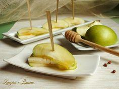 Finger food mela verde e formaggio