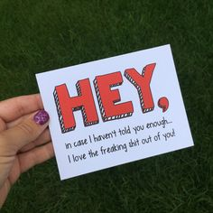 Your place to buy and sell all things handmade - Relationship Funny - Funny I love you card for long distance relationship Funny Anniversary Card Funny card for long di The post Your place to buy and sell all things handmade appeared first on Gag Dad. Cute Boyfriend Gifts, Cards For Boyfriend, Boyfriend Notes, Birthday Cards For Friends, Birthday Gifts For Best Friend, Funny Cards, Cute Cards, Friendship Cards, Funny Friendship