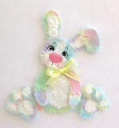 Tear Bear Tye Dye Easter Bunny  http://www.ebay.com/itm/350546704873?ssPageName=STRK:MESELX:IT&_trksid=p3984.m1555.l2649