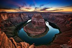 Horseshoe Bend on the Colorado River (Grand Canyon)  #journey