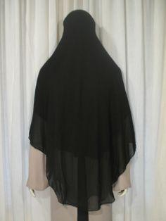High Quality Long Round Cut Niqab | Islamic Boutique