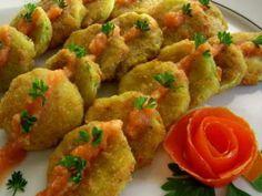 Squash Croquettes / Dovlecei prajiti :: Romanian Food Recipes – Famous Last Words I Love Food, Good Food, Yummy Food, Healthy Food, Diet Recipes, Snack Recipes, Snacks, Healthy Recipes, Vegetarian