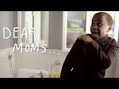 "Too cute!  ""Dear Mom"" Video from Soul Pancake.  (Kid President)"