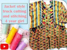 Frocks For Girls, Girl House, Jacket Style, Kurti, Stitching, Youtube, Jackets, Fashion, Costura