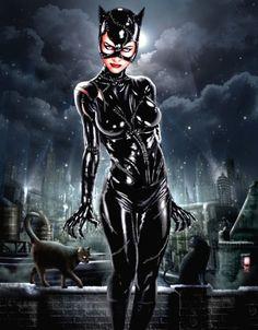 'Batman Returns' Catwoman - Juan Carlos Ruiz Burgos