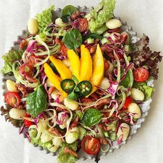 Amazing Food Pictures, Cobb Salad, Salads, Image, Instagram, Salad, Chopped Salads